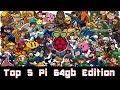 Top 5 Raspberry Pi Retro Gaming 64gb Images - 6,000 Games + KODI