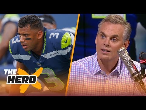 Colin Cowherd on Seattle \'owing\' Russ, Brees talking about Mayfield\'s future | NFL | THE HERD