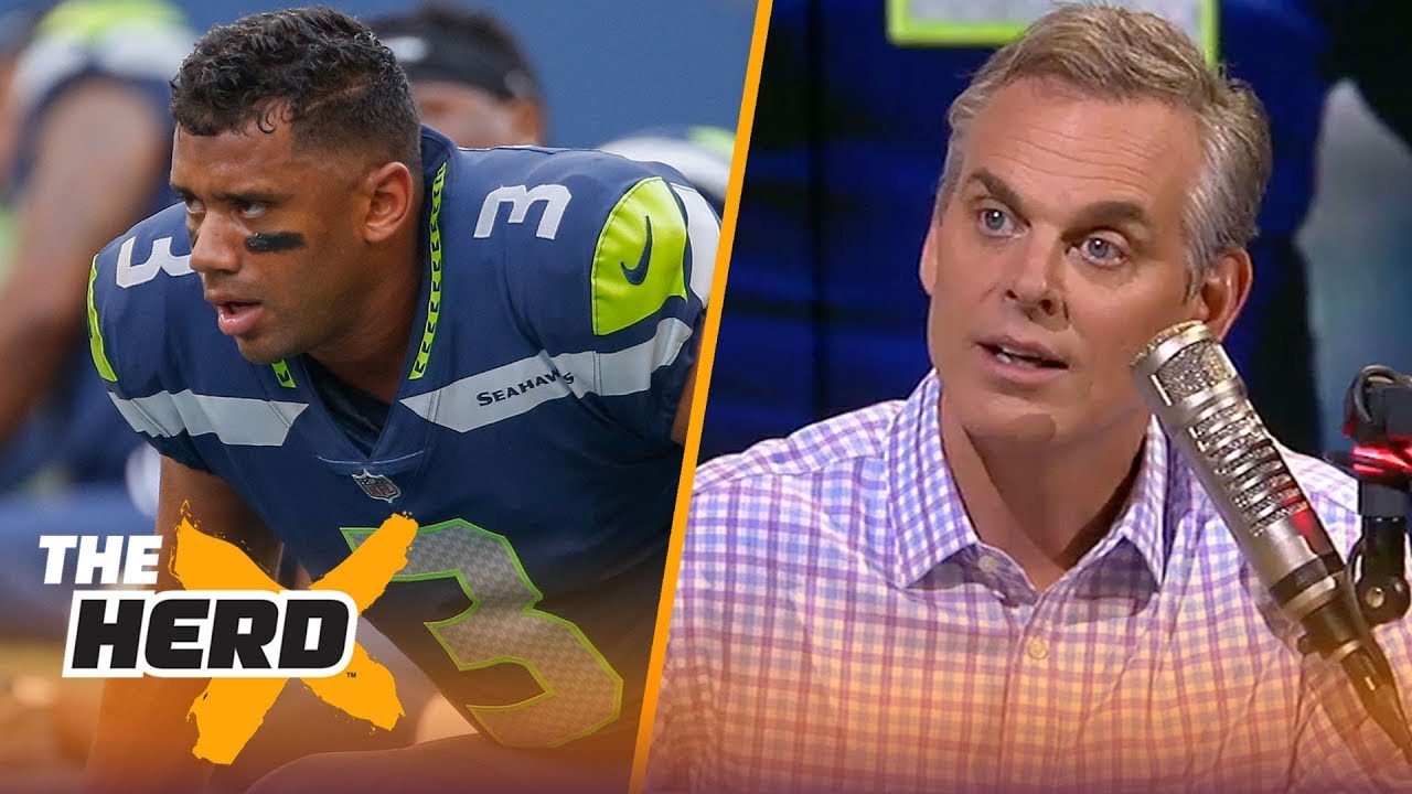 Colin Cowherd on Seattle 'owing' Russ, Brees talking about Mayfield's future | NFL | THE HERD