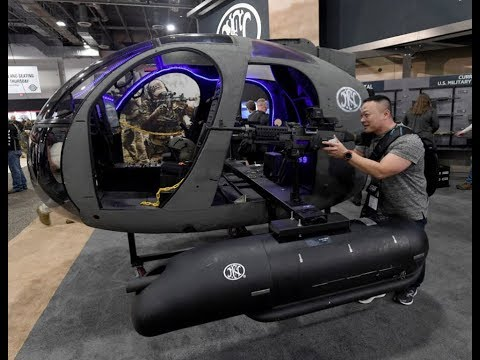 Weapon Exhibition in Las Vegas, USA