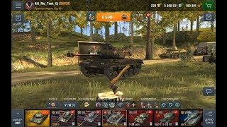 Wot Blitz-Обкатываем M-41 90-Чёрный бульдог-Стоит ли он своих трат?Фарм-Геймплэй-Нагиб!