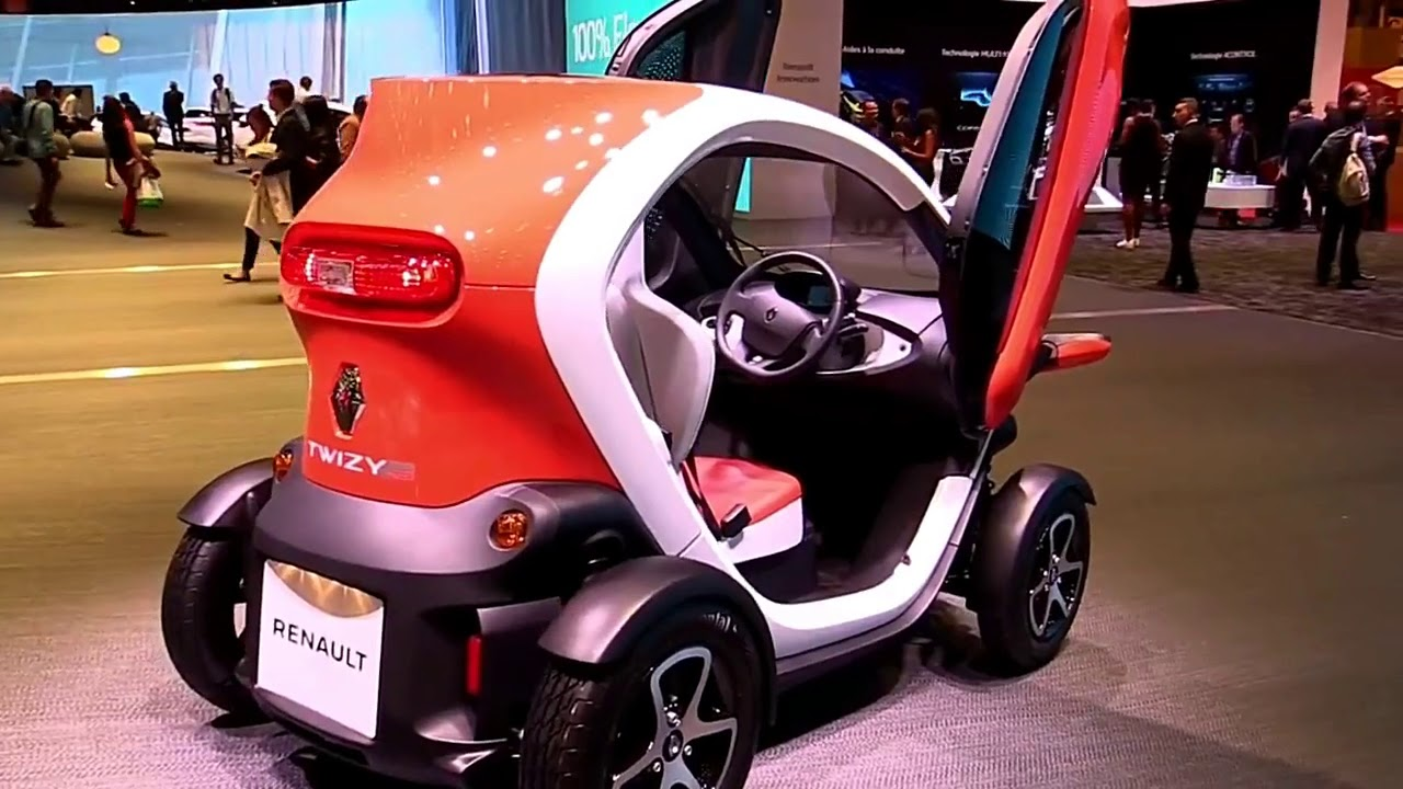 2017 Renault Twizy Electric Car Fullsys Features New Design Exterior Interior First Impression
