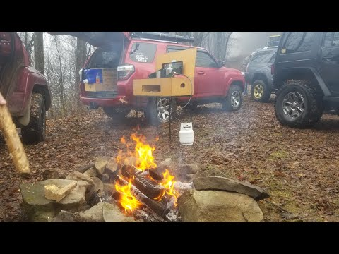 Camp Cookin - Episode 1 - Featuring North Georgia Overland in Tellico Plains Tennessee