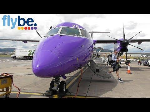 Flybe Bombardier Dash 8 Q400   Birmingham To Belfast City, BHD *FULL FLIGHT*