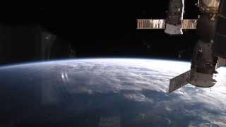 Super Typhoon Vongfong Seen From ISS