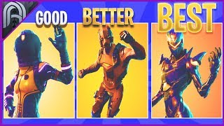 Tous les Skins Fortnite Legendary Item Shop de WORST à BEST!!