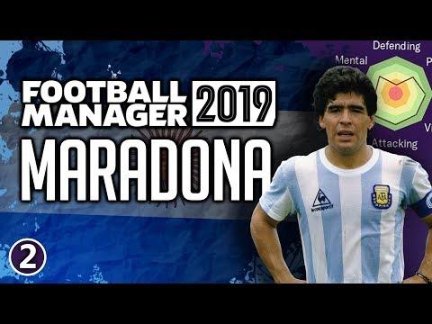 Maradona In Football Manager 2019 - Part 2 | FM19 Legends Reborn Experiment