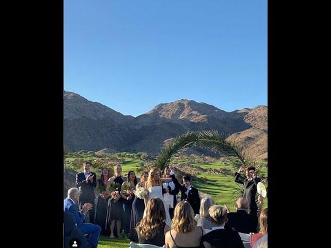 Cybil Shepherd's daughter Ariel, 32, marries her partner Eliza, 41, in Palm Desert ceremony from YouTube · Duration:  2 minutes 48 seconds