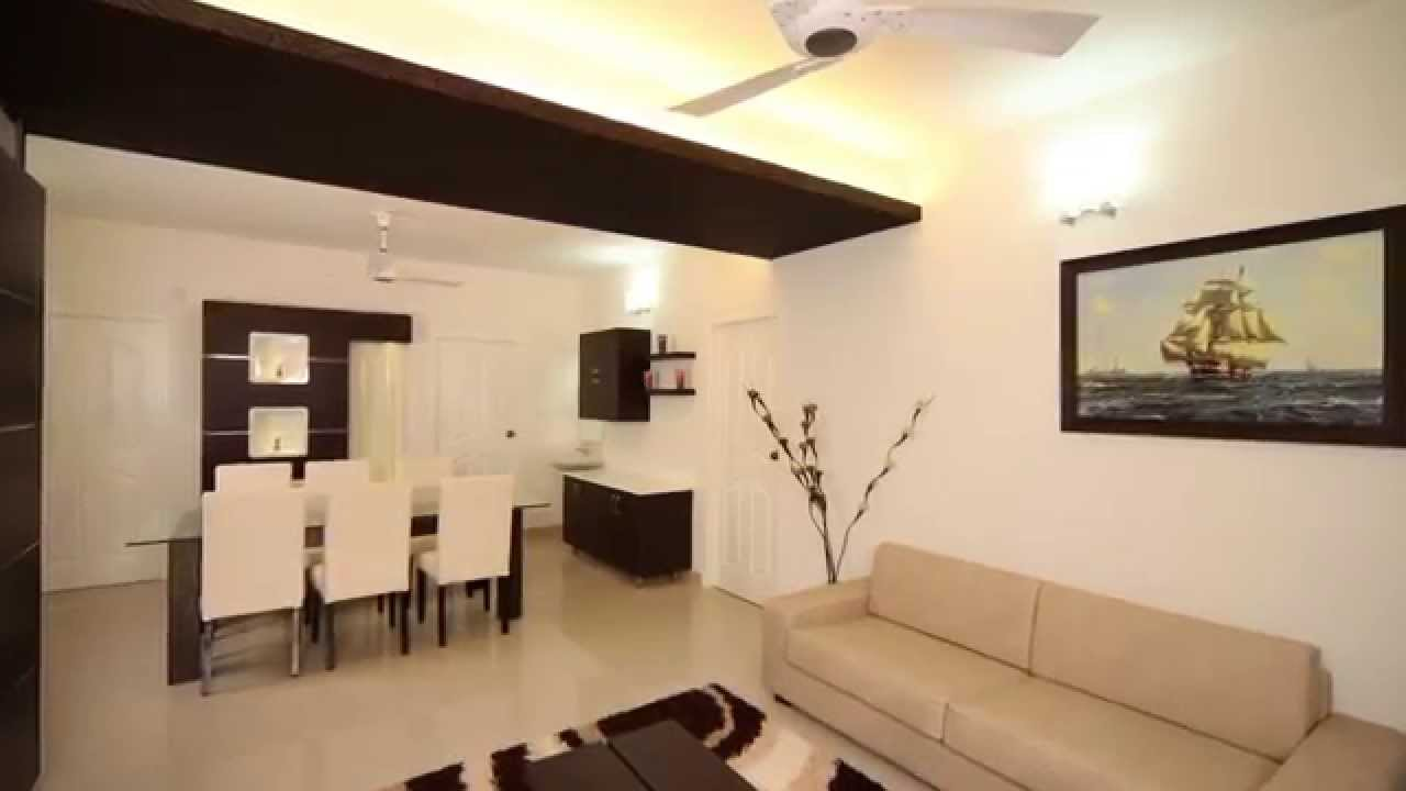 Interior design for a flat at cochin by d life home Flat interior design images