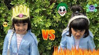 BAD ELSA VS GOOD ELSA! WHO IS THE REAL ONE😱