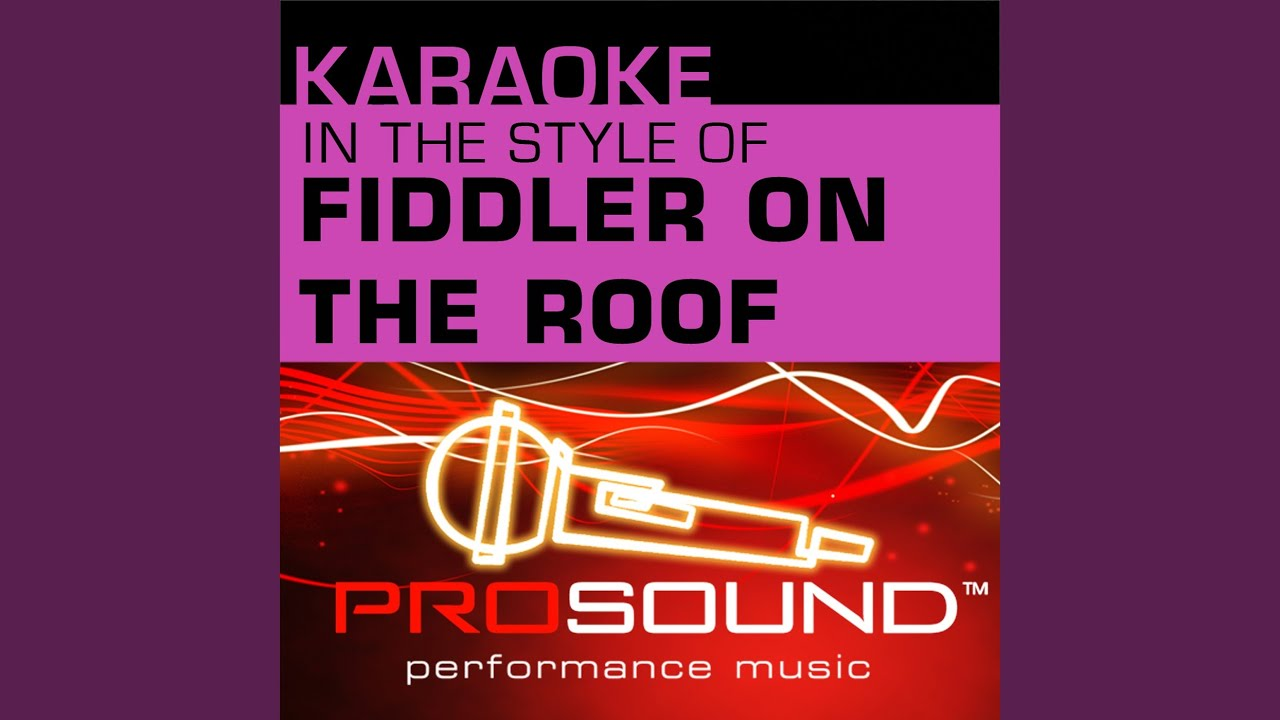 Sabbath Prayer Karaoke Lead Vocal Demo In The Style Of