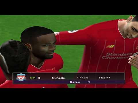PES 2020 (PS2) Liverpool Vs Man City