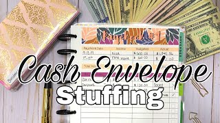 Cash Envelope Stuffing September Paycheck 1