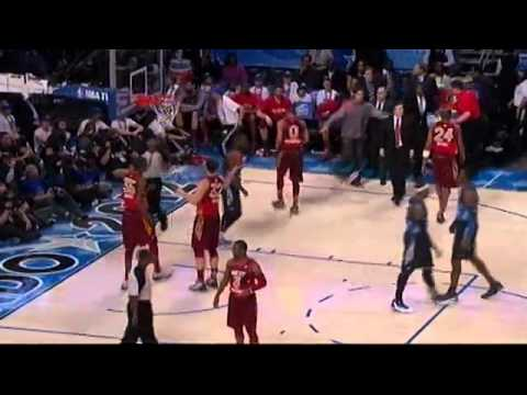 2012 NBA  All-Star ||4th quarter||   Kobe Bryant Gets Scoring Record, Kevin Durant Named MVP