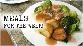 MEALS FOR THE WEEK , 4TH-10TH OCTOBER | UMBUMGO FAMILY VLOGS