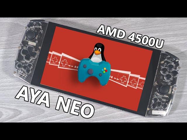 AYA Neo - Linux Gaming - Ubuntu And Steam Proton Running On A PC Gaming Handheld