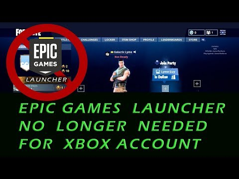 Epic Account Management Has Been Added to Fortnite On Xbox