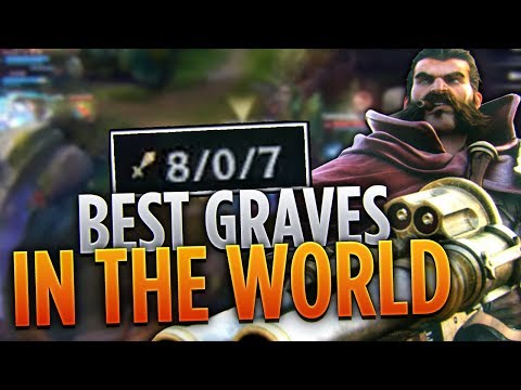 THE BEST GRAVES IN THE WORLD! | FULL INFORMATIVE GAMEPLAY COMMENTARY | Tarzaned