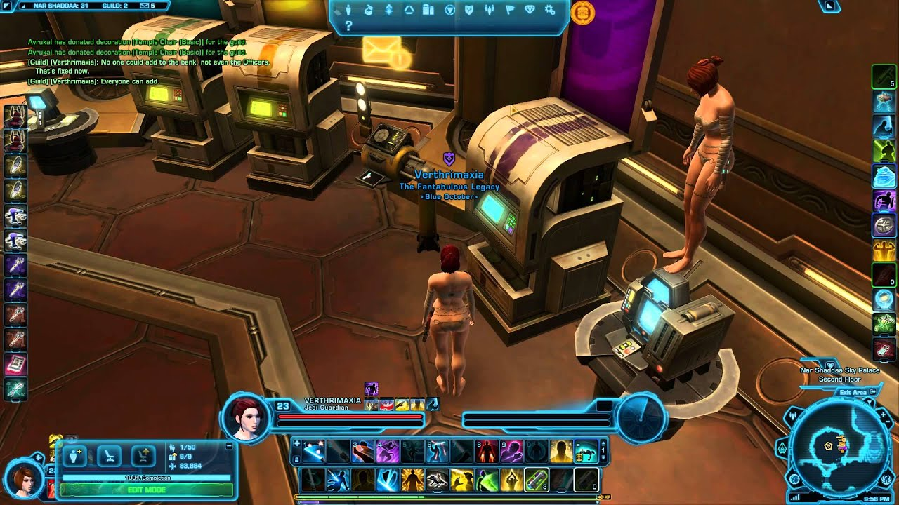 how to make a guild in swtor