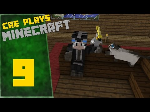 Cae Plays Minecraft Episode 9 - Cleaning, Parrots, and house decor