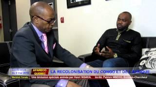 """ÉMISSION SPÉCIALE: """"LA RECOLONISATION DU CONGO ET DE L"""