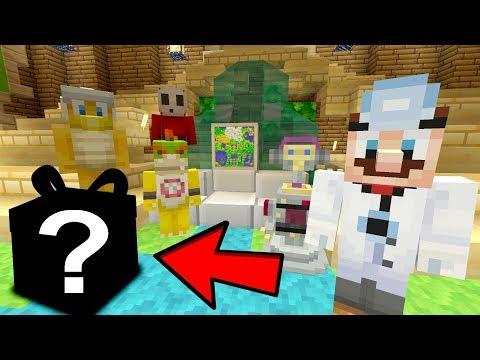 Chef Mario's Goodbye Present! [EMOTIONAL!] - Nintendo Fun House - (Minecraft Switch) [231]