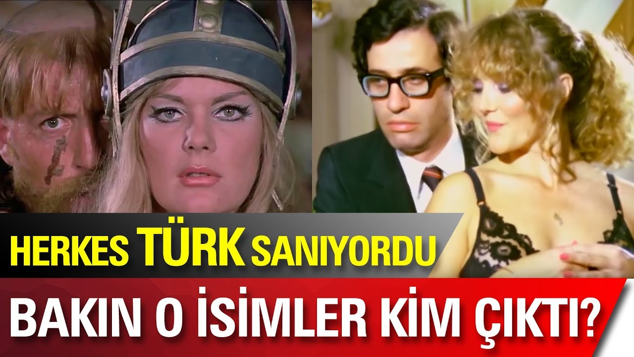 Türk Olduğunu Sandığınız Yabancı ünlüler çok şaşıracaksınız Youtube