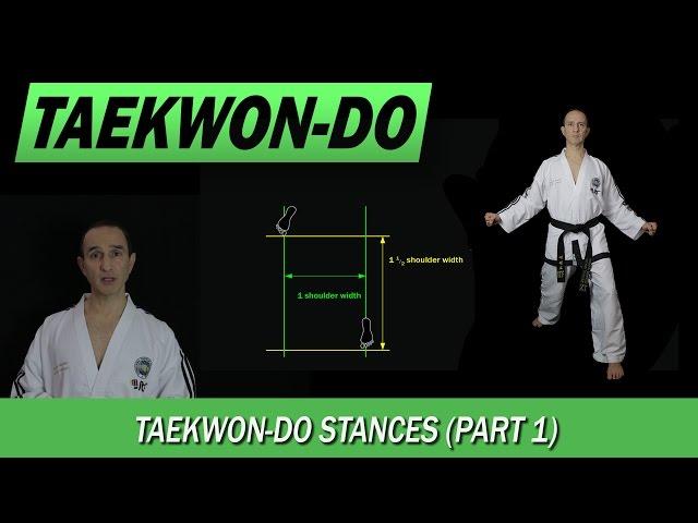 Taekwon-Do: Stances (Part 1)