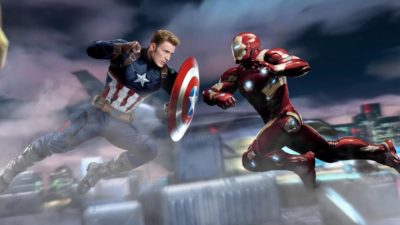 Captain America Civil War 3d Wallpaper Youtube