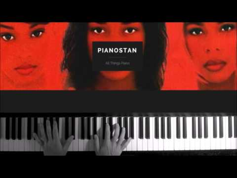"""How To Play TLC """"Waterfalls"""" Piano Tutorial, Chords & Lesson"""