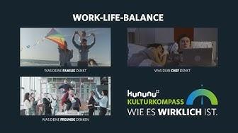 Work-Life-Balance   Der kununu Kulturkompass