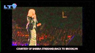 Barbra Streisand performs her first-ever Brooklyn, New York concert