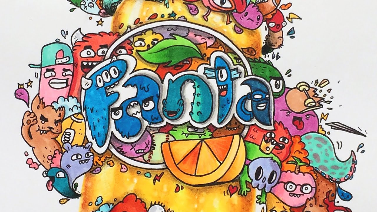 Cool Graffiti Wallpapers Hd Let S Design A New Label For Fanta Youtube