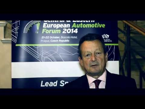Ivan Hodac of ACEA Association at CEE Automotive Forum 2014