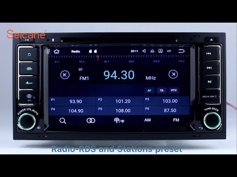 Android 7 1 2002-2011 VW Volkswagen TOUAREG CD DVD GPS Navigation Player  Radio Replacement