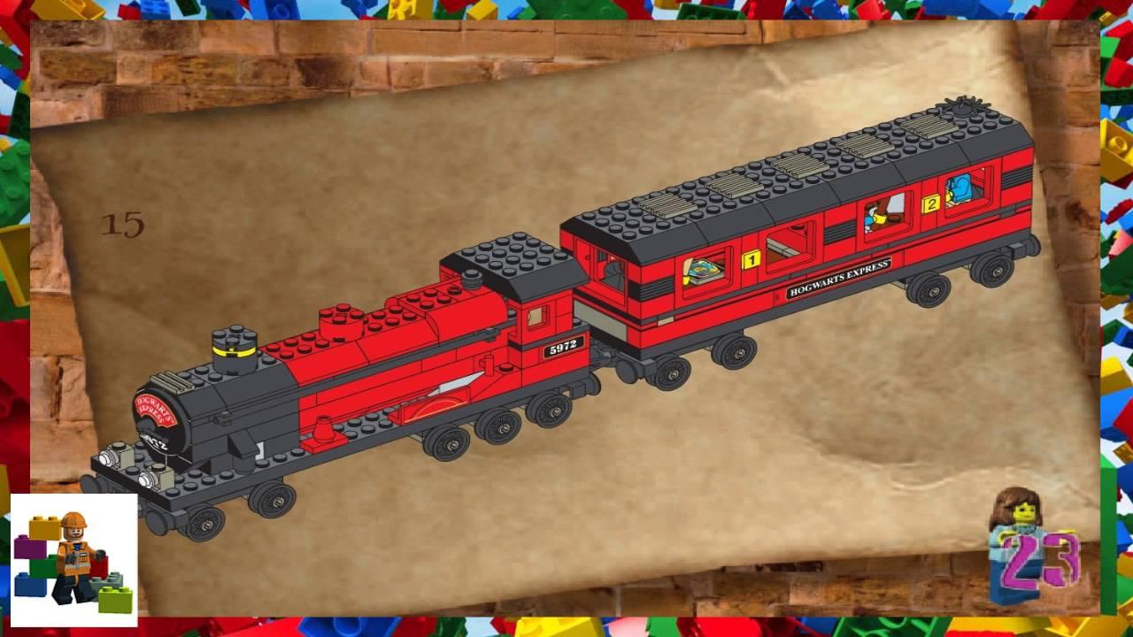 Lego Instructions Harry Potter 4708 Hogwarts Express Youtube