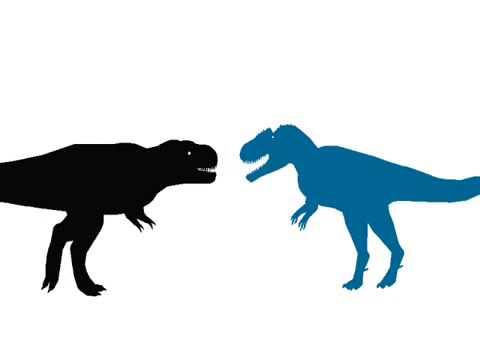 Tyrannotitan vs tyrannosaurus