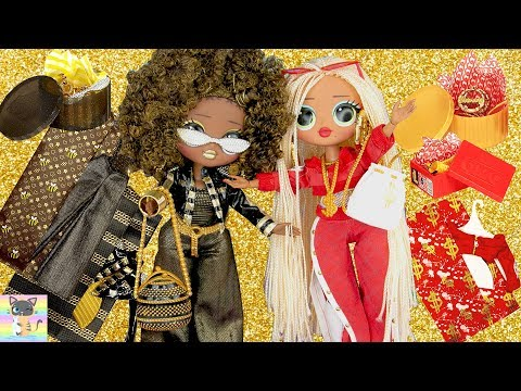 NEW LOL Surprise Big Sisters OMG fashion dolls Toy Unboxing! New Clothes, Shoes, Accessories &