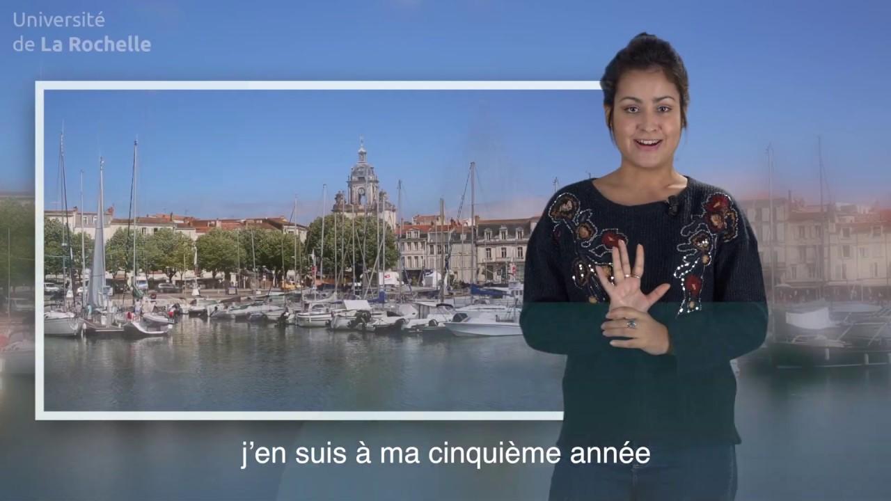 Le portrait d'Ayelén, étudiante en échange à La Rochelle Université