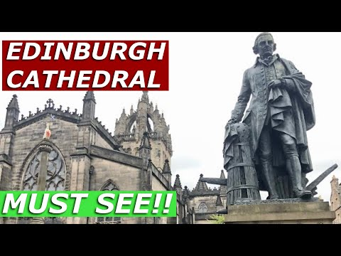 St Giles' Cathedral: Edinburgh's Most Important Church / Royal Mile / Scotland 🏴
