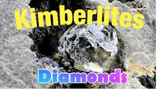 Kimberlites, Rare Colorado Specimens Diamonds, Garnets in the Ruff