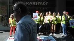 Karstadt-Streik Konstanz