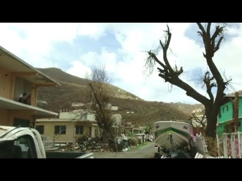 British Virgin Islands brace for Maria just weeks after Irma hit