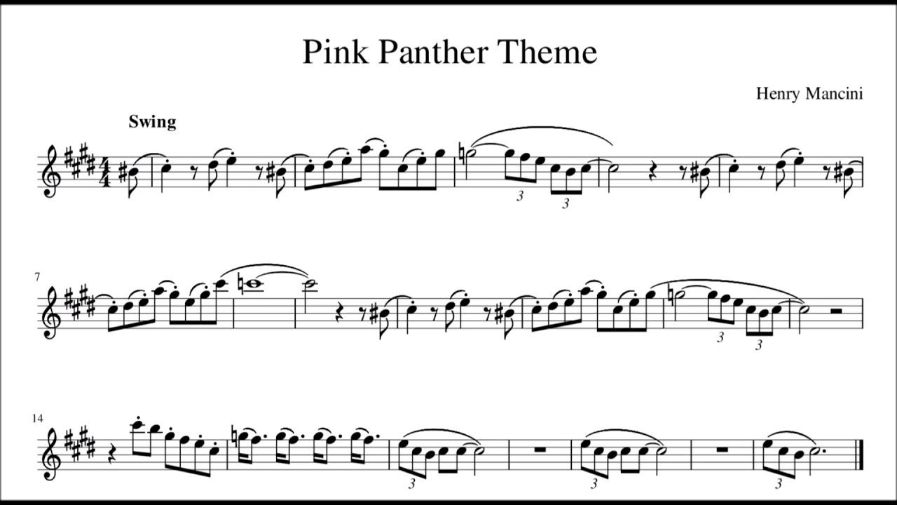 pink panther theme # 9