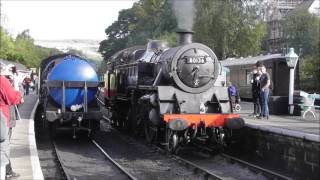 North Yorkshire Moors Railway Autumn Steam Gala Day 1 Friday 30th September 2016