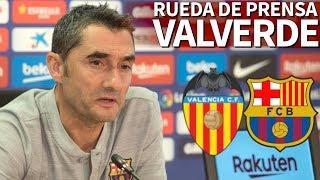 Valencia - Barcelona | Rueda de prensa previa de Valverde | Diario AS