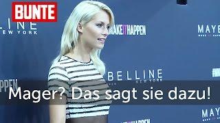Lena Gercke - Jetzt spricht sie Klartext zu den Mager-Gerüchten - BUNTE TV