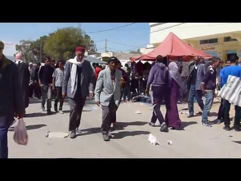 Market in Sbeitla: China Comes to Tunisia!