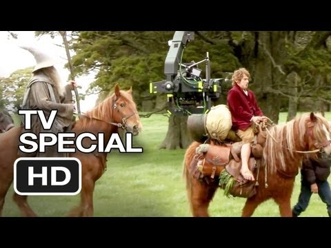 The Hobbit 13 Minute Television Special 2012  Lord of the Rings Movie HD