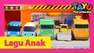 Tayo Lagu Mainan Mobil l Tang Tang Bang Bang Ayo Membangun l Lagu untuk anak-anak l Tayo Sing Along